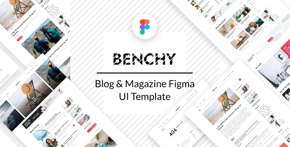 [Free Download] Benchy – Blog & Magazine Figma UI Template (Nulled) [Latest Version]
