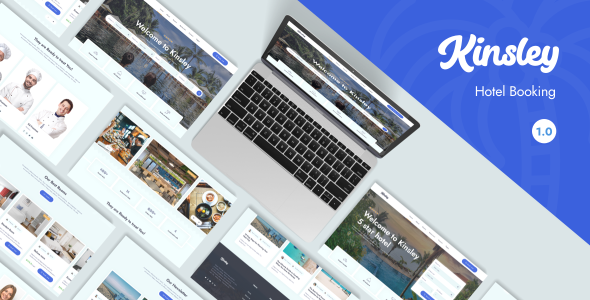 [Free Download] Kinsley – Hotel Template (Nulled) [Latest Version]