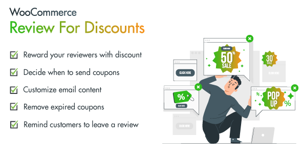 [Free Download] WooCommerce Reviews for Discount (Nulled) [Latest Version]