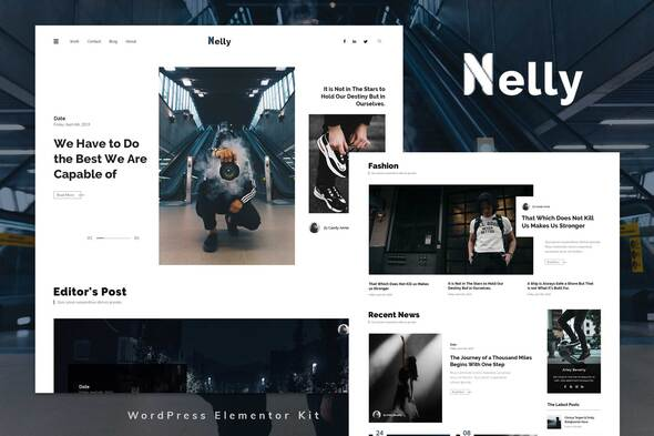 [Free Download] Nelly – Blog & Magazine Elementor Template Kit (Nulled) [Latest Version]
