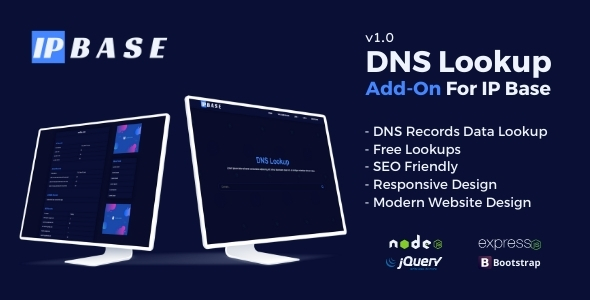 [Free Download] DNS Lookup Addon for IP Base (Nulled) [Latest Version]