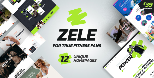 [Free Download] Zele – Fitness Gym & Sports WordPress Theme (Nulled) [Latest Version]