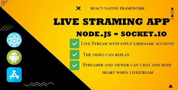 [Free Download] Live streaming App Backend Node.js – socket.io (Nulled) [Latest Version]