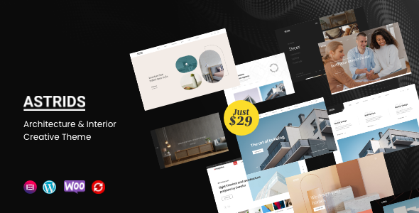 [Free Download] Astrids – Architecture, Interior Creative Theme (Nulled) [Latest Version]