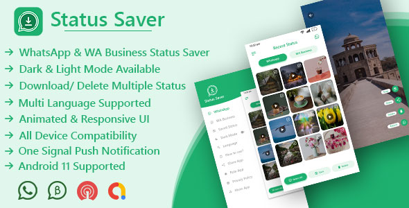 [Free Download] Status Saver (For WhatsApp & WhatsApp Business) (Nulled) [Latest Version]