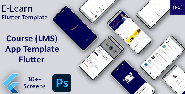 [Free Download] Online Learning App Template | LMS App | Online Course App Android + iOS Template | FLUTTER | ELearn (Nulled) [Latest Version]