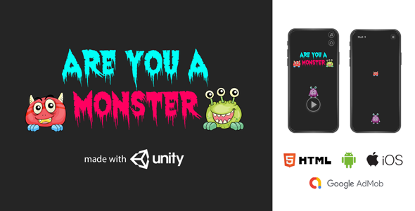 [Free Download] Monster Killer Unity3D   Android, iOS, Html (Nulled) [Latest Version]