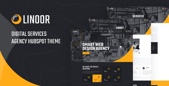 [Free Download] Linoor – Digital Agency Services Hubspot Theme (Nulled) [Latest Version]