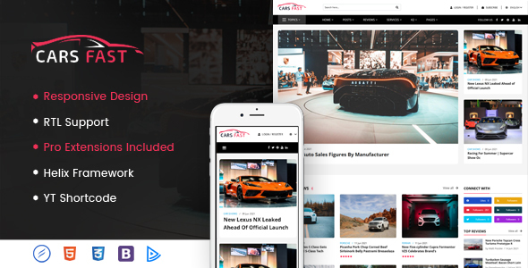 [Free Download] CarsFast – Responsive Cars Joomla Template (Nulled) [Latest Version]