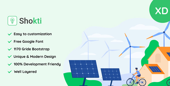 [Free Download] Sokti – Renewable Energy XD Template (Nulled) [Latest Version]