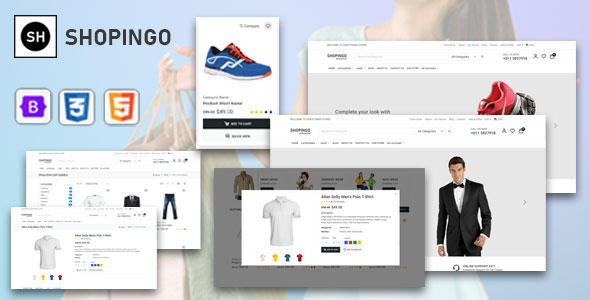 [Free Download] Shopingo – eCommerce HTML Template (Nulled) [Latest Version]