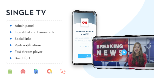 [Free Download] Single TV with Admin Panel. (Nulled) [Latest Version]