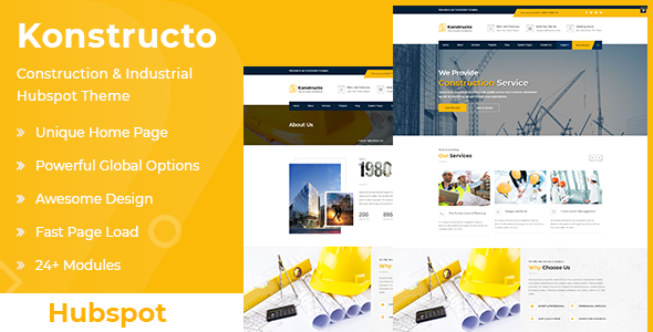 [Free Download] Konstructo – Construction and Architecture Hubspot Theme (Nulled) [Latest Version]