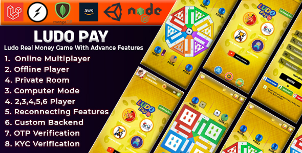 [Free Download] Ludo Pay Online Multiplayer Real Money Game (Nulled) [Latest Version]