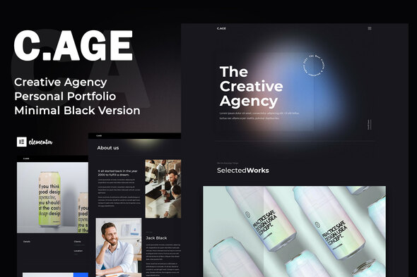 [Free Download] C.AGE – Creative Agency Personal Portfolio Elementor Template Kit (Nulled) [Latest Version]