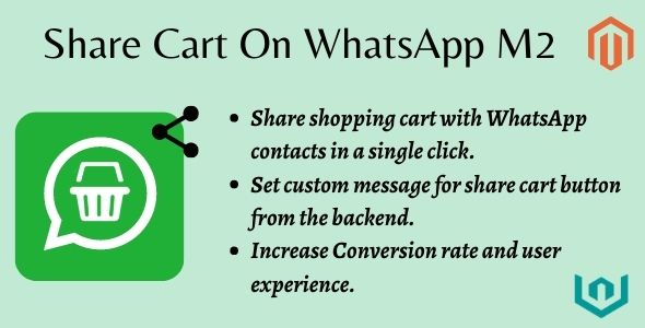 [Free Download] Magento 2 Share Cart On Whatsapp By Webiators (Nulled) [Latest Version]