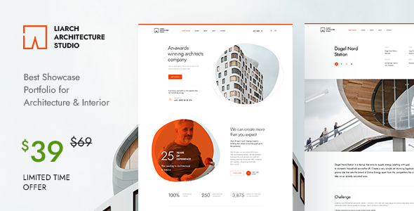 [Free Download] Liarch – Architecture & Interior WordPress Theme (Nulled) [Latest Version]