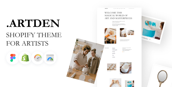[Free Download] Artden – Shopify Theme for Artists (Nulled) [Latest Version]
