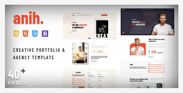 [Free Download] Anih – Creative Portfolio & Agency Template (Nulled) [Latest Version]