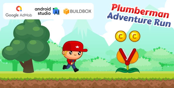 [Free Download] Plumberman Adventure Run Game (Android Studio Project + Buildbox Project + AdMob Ads) (Nulled) [Latest Version]