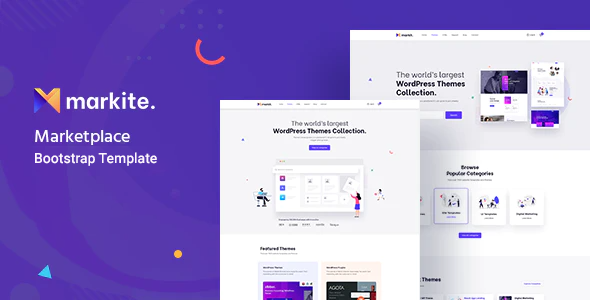 [Free Download] Markit – Digital Marketplace  HTML5 Template (Nulled) [Latest Version]