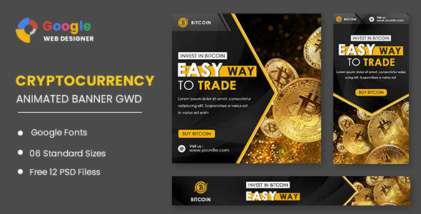 [Free Download] Bitcoin Animated Banner Google Web Designer (Nulled) [Latest Version]
