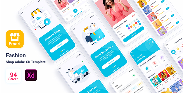 [Free Download] Emart – Fashion Shop Adobe XD Template (Nulled) [Latest Version]