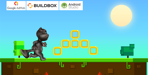 [Free Download] Cat Runner Adventure Game – Buildbox Template + Android Project (Nulled) [Latest Version]