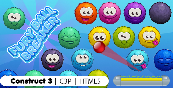 [Free Download] Furry Balls Breaker Game (Construct 3 | C3P | HTML5) Bricks Breaker Game (Nulled) [Latest Version]