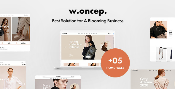 [Free Download] W.oncep – Unisex Fashion & Clothing Shopify Theme (Nulled) [Latest Version]