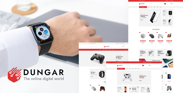[Free Download] Dungar – Electronics Shop HTML Template (Nulled) [Latest Version]