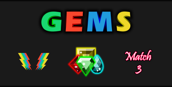 [Free Download] Gems Match 3 (Nulled) [Latest Version]