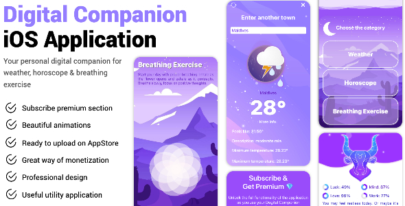 [Free Download] Digital Companion iOS Application (Nulled) [Latest Version]