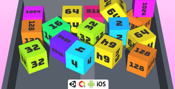[Free Download] Cube Merge – Complete Unity Game For Android & iOS (Nulled) [Latest Version]