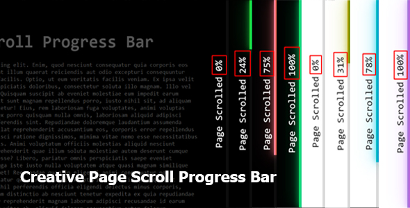 [Free Download] Creative Page Scroll Progress Bar (Nulled) [Latest Version]
