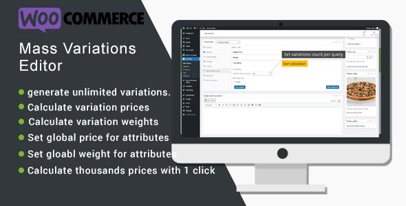 [Free Download] WooCommerce Mass Variations Editor (Nulled) [Latest Version]