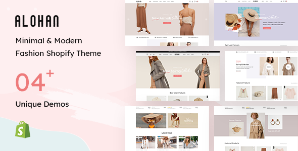 [Free Download] Alohan – Fashion Shopify Theme (Nulled) [Latest Version]