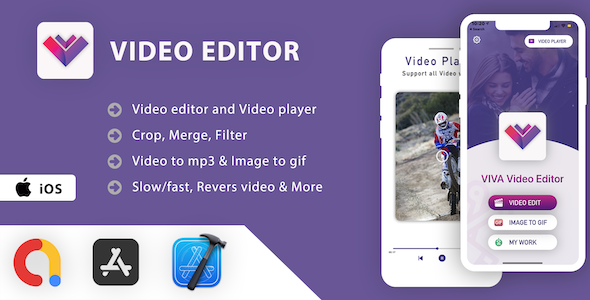 [Free Download] Video Editor & Video Player App – iOS App Source Code (Nulled) [Latest Version]