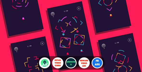 [Free Download] Color Jump : (Android Studio+Facebook Ads+Reward Video+Multiple Chars+Inapp+Leaderboards+Onesignal) (Nulled) [Latest Version]