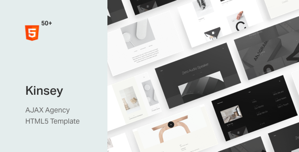 [Free Download] Kinsey – AJAX Agency HTML5 Template (Nulled) [Latest Version]