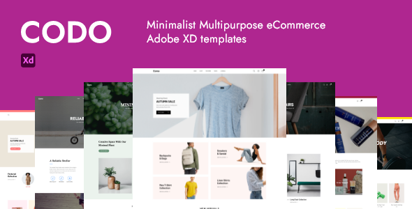 [Free Download] Codo – Minimalist eCommerce Adobe XD templates (Nulled) [Latest Version]