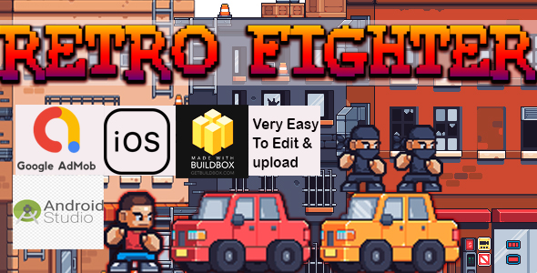 [Free Download] Retro Fighter- BuildBox Template+Android + IOS Game Template+Admob Earning (Nulled) [Latest Version]