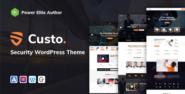 [Free Download] Custo – Security & CCTV (Nulled) [Latest Version]