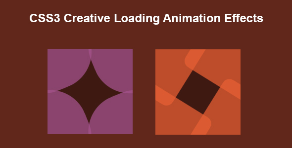 [Free Download] CSS3 Creative Loading Animation Effects (Nulled) [Latest Version]