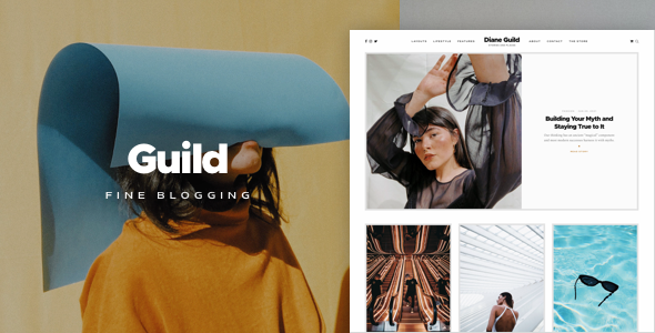 [Free Download] Guild — A Fine WordPress Blogging Theme (Nulled) [Latest Version]