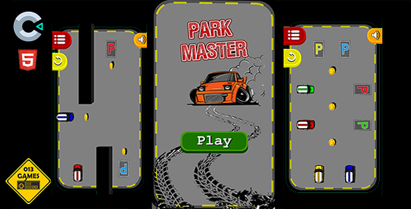 [Free Download] Park Master – HTML5 Mobile Game (Nulled) [Latest Version]