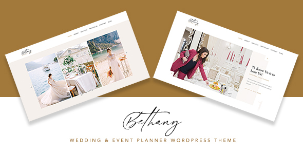 [Free Download] Bethany – Wedding & Event Planner WordPress (Nulled) [Latest Version]