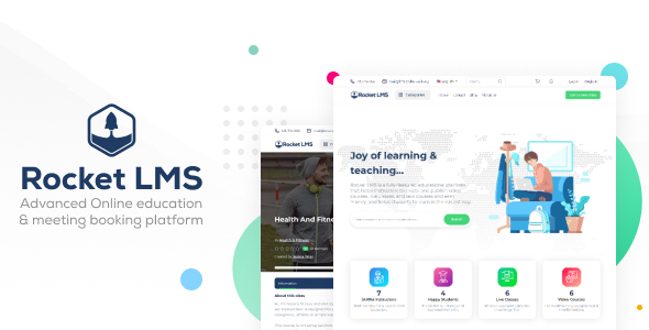 [Free Download] Rocket LMS – Learning Management & Academy Script (Nulled) [Latest Version]