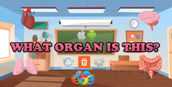 [Free Download] What Organ Is This? – Educational Game – HTML5 (Capx/C3p) (Nulled) [Latest Version]