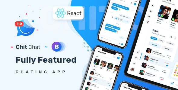 [Free Download] Chitchat – Perfect Chat and Discussion React JS Template (Nulled) [Latest Version]